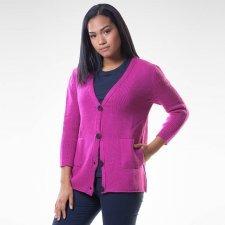 Cardigan Lauren in merino wool