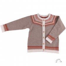 Cardigan Lily in merino wool