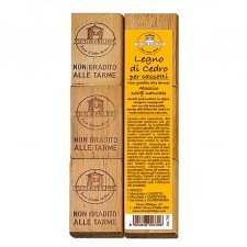 Cedarwood anti-moth drawers for drawers 6 pcs