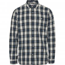 Checked flannel shirt Larch in organic cotton
