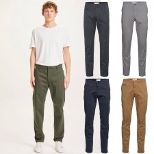 Chuck regular stretched chino pant in organic cotton