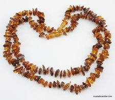 CHIPS Baltic amber necklaces