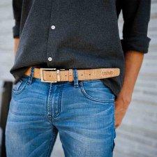 Cintura SHUMA reversibile in Sughero