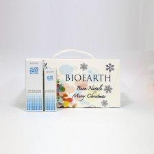 Cofanetto Natale Bioearth AloeBase Sensitive Crema Antiage + Contorno Occhi