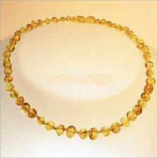 Collana d'ambra Baby perle