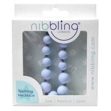 Collana per dentizione e allattamento in silicone Baby Blue