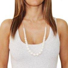 Collana per dentizione in silicone Simple Pearl