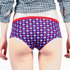 STRETCH ORGANIC COTTON BOXERS SIZE S