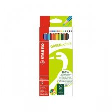 Coloured ecological pencils 12 pieces Stabilo