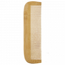 Comb in bamboo tight teeth