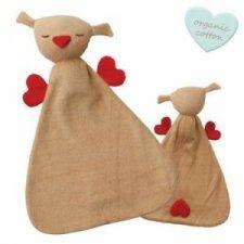 Comforter bird Hugo in organic cotton