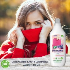 Concentrated detergent wool and cashmere 1 liter BIOPURO
