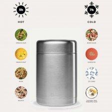 Contenitore Termico per il cibo in acciaio inox 650 ml