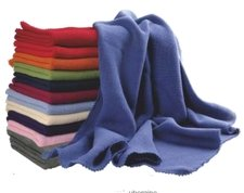 Copertina a maglia in cotone biologico