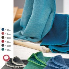 Copertina melange Disana in lana merino biologica