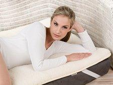 Copri materasso in lana merinos letto singolo