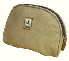 Cosmetic bag in hemp