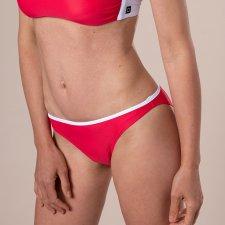 Eco bikini SLIP classico corallo in ECONYL®