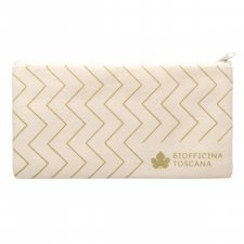 Cotton cosmetic bag Gold