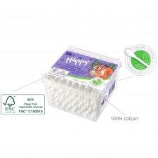 Cotton fioc neonati per le orecchie biodegrababili