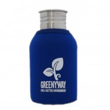 Cover in Neoprene Blu per Borracce Greenyway