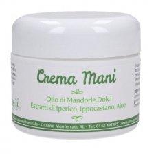 Crema mani protettiva naturale in vasetto 50 ml