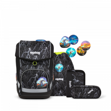 Cube Set for primary school in Fair Trade Recycled Pet - Super Reflect Glow