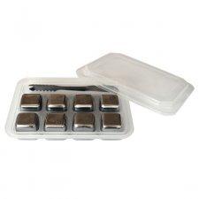 Cubetti ghiaccio riutilizzabili in acciaio inox Greenyway