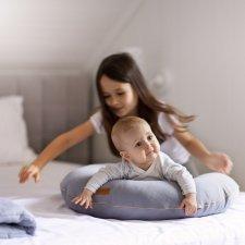 Cuscino da allattamento Poofi in cotone biologico