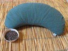 Cuscino da Meditazione Mezzaluna in grano saraceno