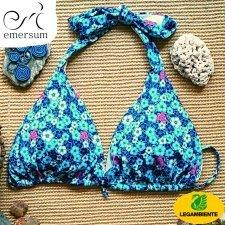 Costume da bagno ecologico Emersum con patrocinio Legambiente - Top