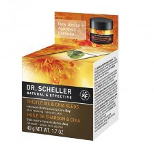 Day cream for dry skin with Thistle Oil and Chia Seeds organic - Dr. Scheller