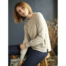 Dela Jumper in organic cotton and wool