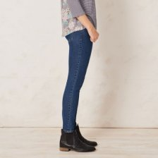 Denim woman indigo in organic cotton