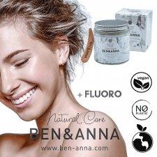 Dentifricio in pasta Bianca Menta con FLUORO Bio Vegan Zero Waste