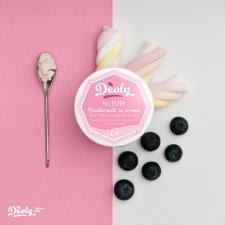 Deodorante in crema Deoly SO CUTE dolce e fruttato per pelle ultra-sensibile