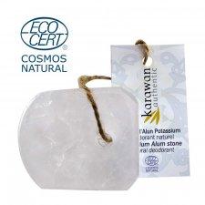Deodorante Pietra d'allume 70 gr con cordino - certificata Cosmos