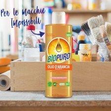 Detergente all'olio d'arancia BIOPURO