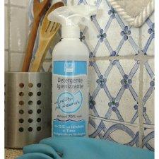 Detergente Igienizzante spray 70% Alcool al Timo 500 ml