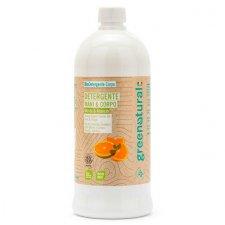Detergente mani e corpo eco-bio alla Menta e Arancio - 1 lt
