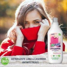 Detersivo concentrato lana e cashmere (35 lavaggi) 1litro BIOPURO