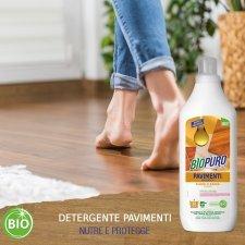 Detersivo concentrato per pavimenti (33 lavaggi) 1kg BIOPURO
