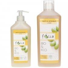 Detersivo piatti e stoviglie Folia Eco Bio con olio di oliva italiano