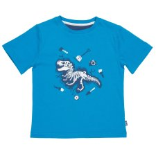 Dino dig t-shirt in organic cotton