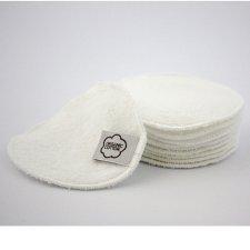 Dischetti struccanti lavabili in cotone biologico - 10 pz