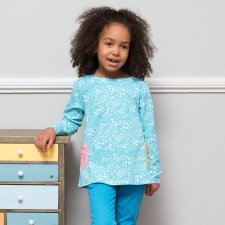 Ditsy tunic organic cotton