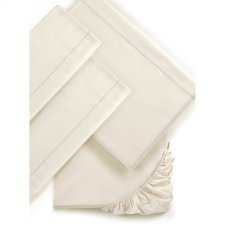 Double bed sheets Mymami in Organic Raw Natural cotton