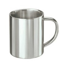 Doublewall cup in stainless steel 0,3l