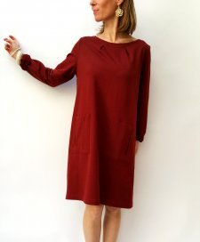 Dress Reham in fair trade organic cotton