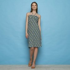 Dress & skirt Stefanie Blue in organic cotton jersey